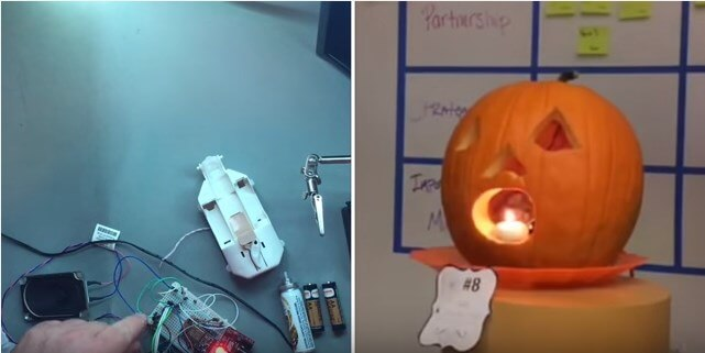 IoT and Pumpkin: How to Make a Smart Jack-o-Lantern for Halloween