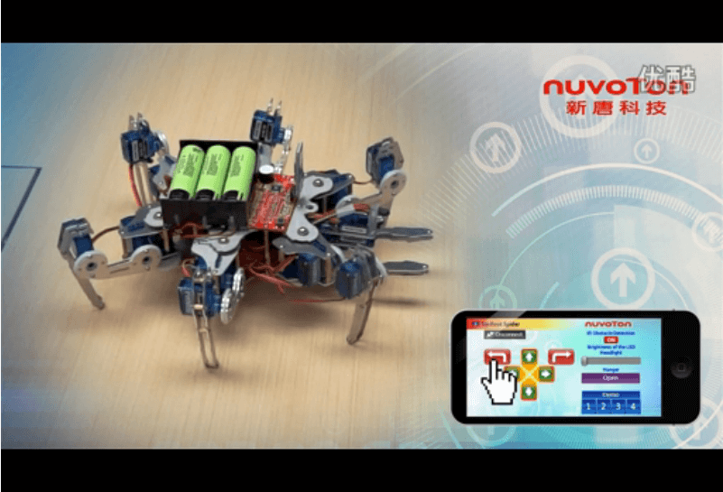 Nuvoton 6-Claw Robot: A Multi-Functional Tool Fulfilling Your Childhood Dream