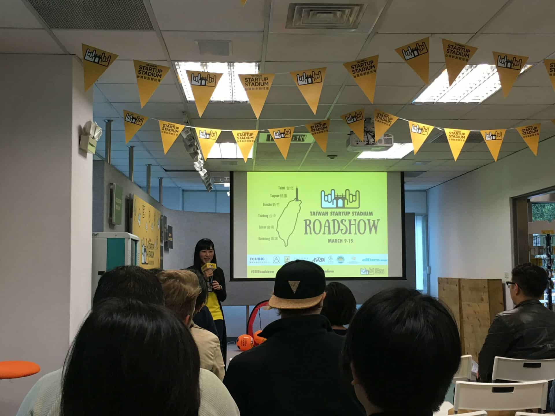 TSS Roadshow in Taipei: All About Tech Startups