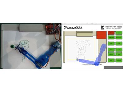 PicassoBot: The Best Assistant for Robotics and STEM Learners