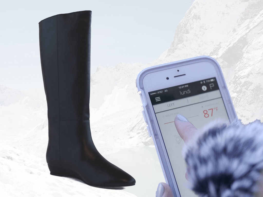 Introducing Lundi: The World's First Pair of Smart Boots