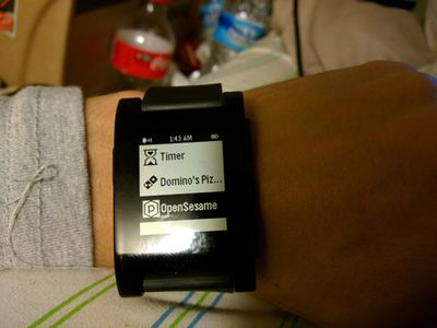 See How This Maker Unlocks the Door with a Smartwatch