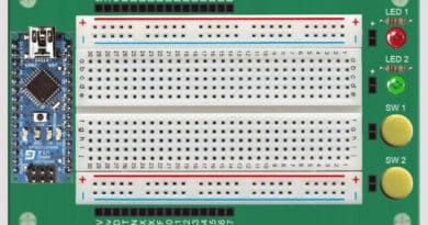 Let the Arduino Learning Board Help to Build Your Projects