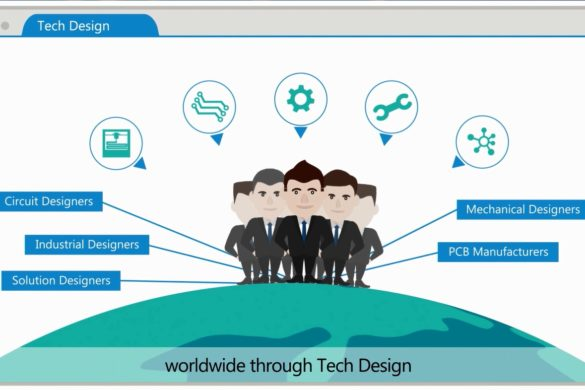 A one-stop platform to source the solution design houses and electronic manufacturers