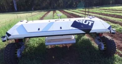solar-powered agriculture robot