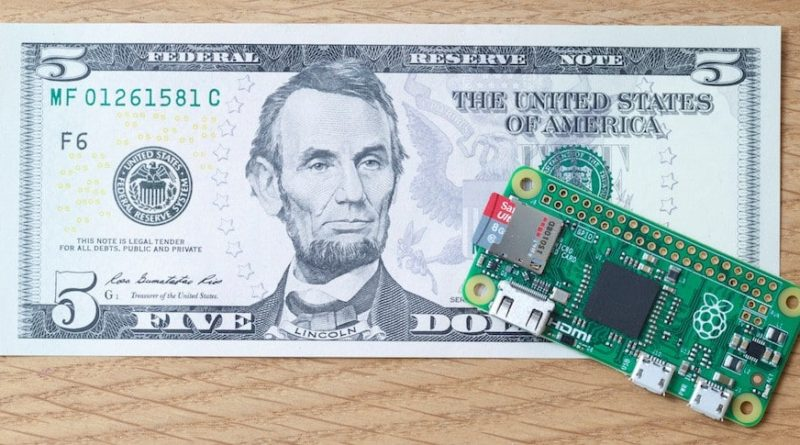 5 dollar pi zero