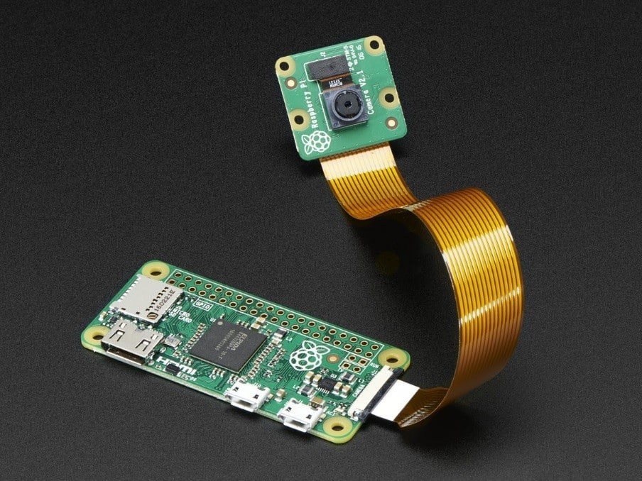 Pi Zero 1.3 started to connect with cameras