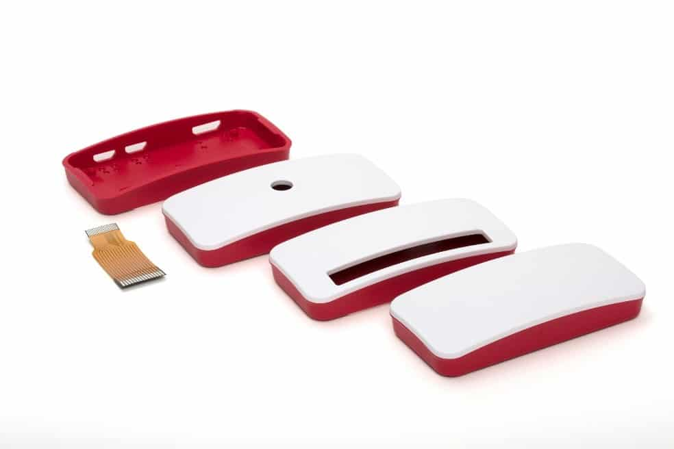 3 official types of lid for Pi Zero W