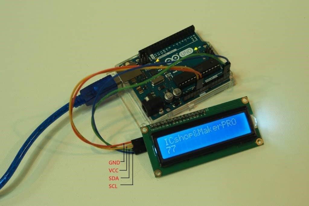 LCD Module Wiring