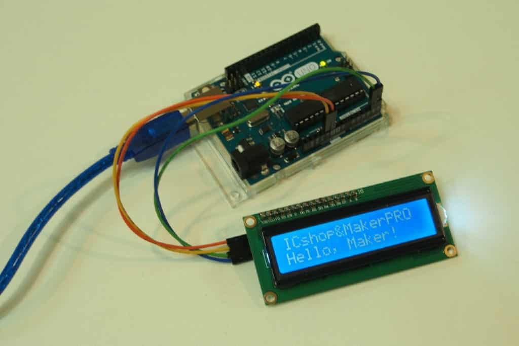 Use I2C to Control LCD Module with Arduino