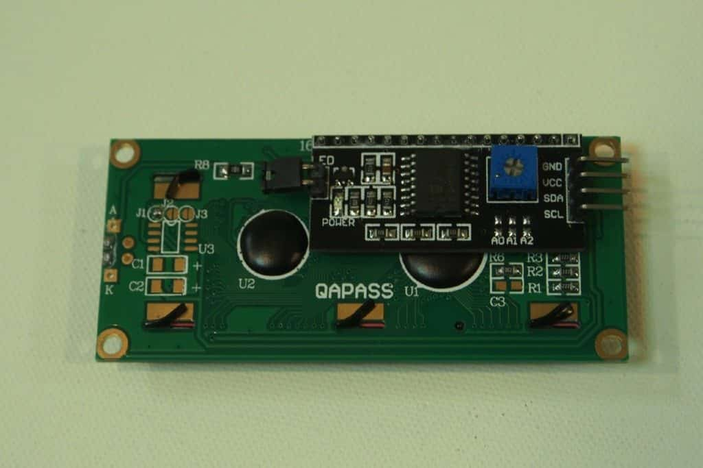Back end of the LCD Module