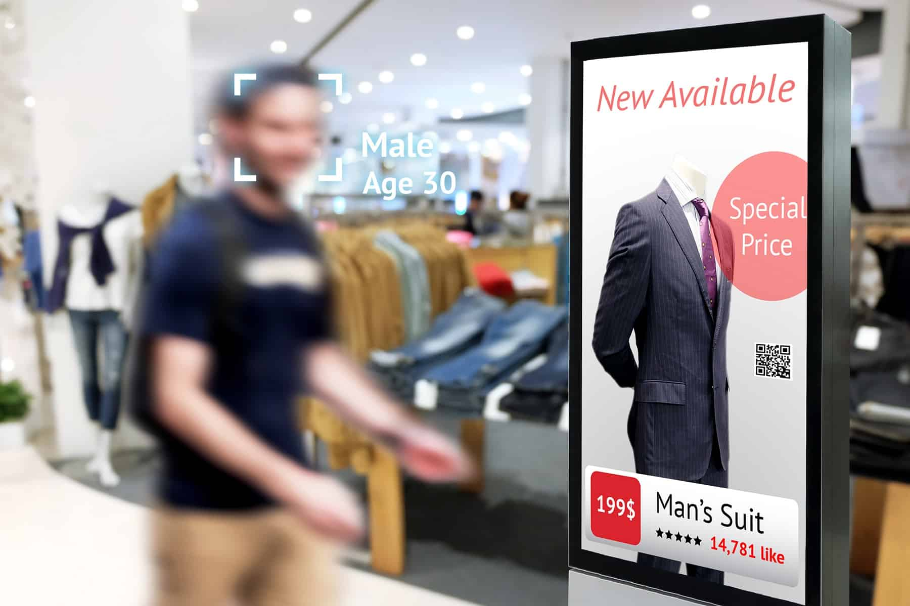 face recognition in retail