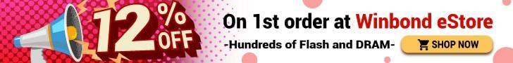 Winbond 1st order discount
