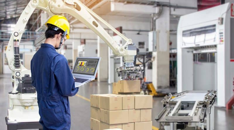 3 Key Technologies in Smart Factory: Robotic Arm, AGV, AOI