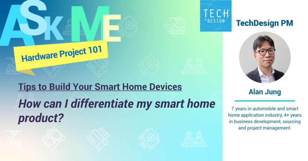 differentiate my smart home product