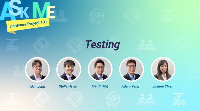 Ask TechDesign PM: Testing